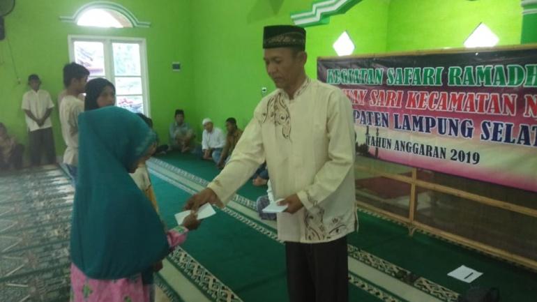 Safari Ramadhan dan pemberian santunan